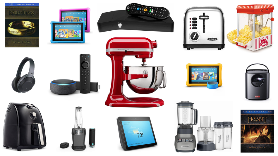Save on home theater gear and kitchenware.