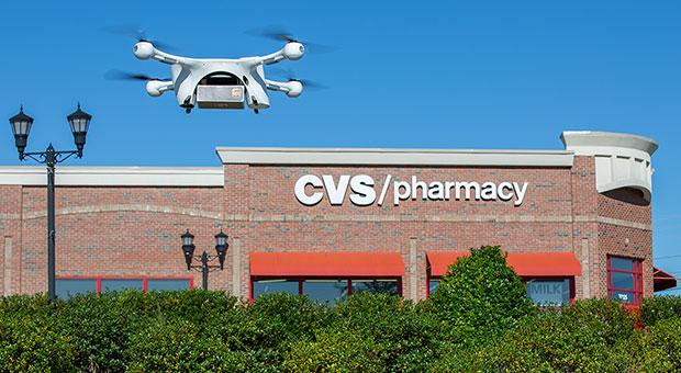 CVS and UPS Drone Delivery of Prescription Medicines