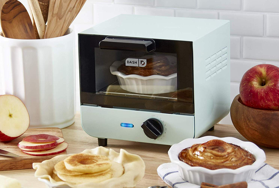 Moving into an apartment with a crappy kitchen? Get a toaster oven.