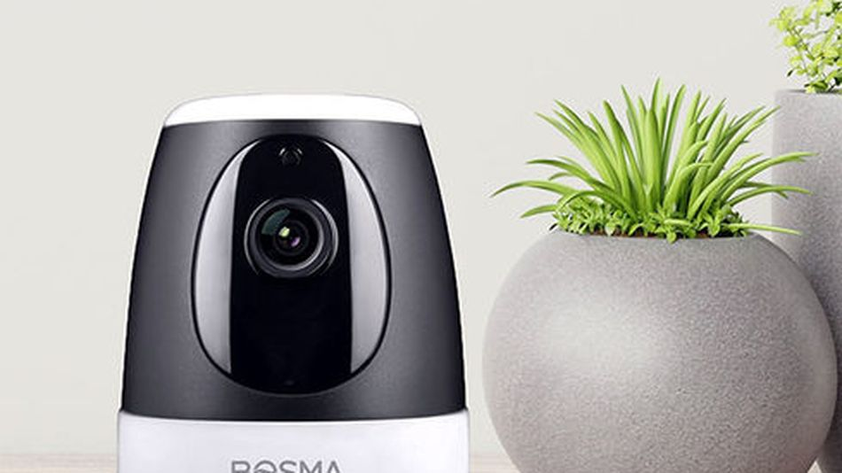 The camera also features two-way audio.