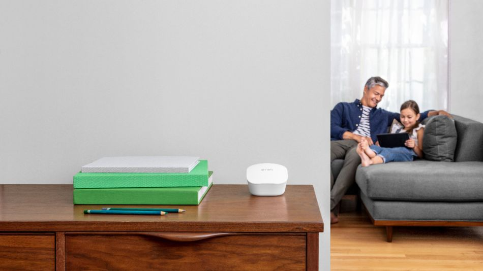 Never lose a strong signal when you upgrade your WiFi to a mesh router system.