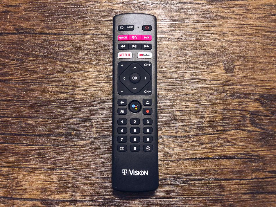 This is a perfectly fine remote.