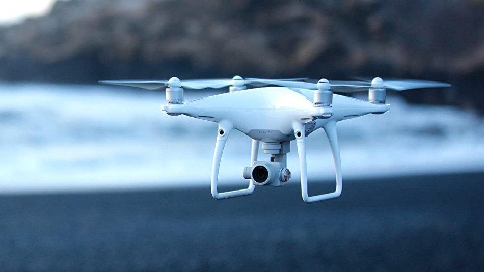 Capture stunning videos and photos with this drone's stabilized camera.
