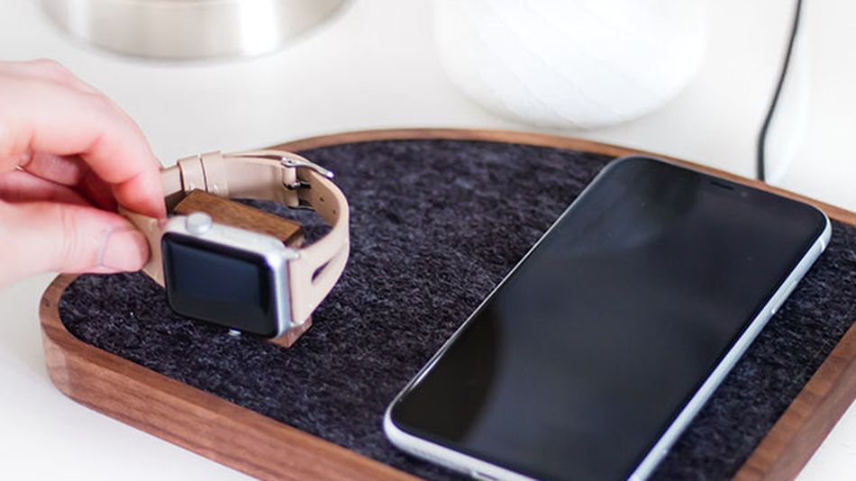 Charge an iPhone and Apple Watch at the same time.