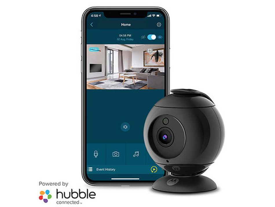Secure your home with this indoor 360-degree Motorola WiFi camera