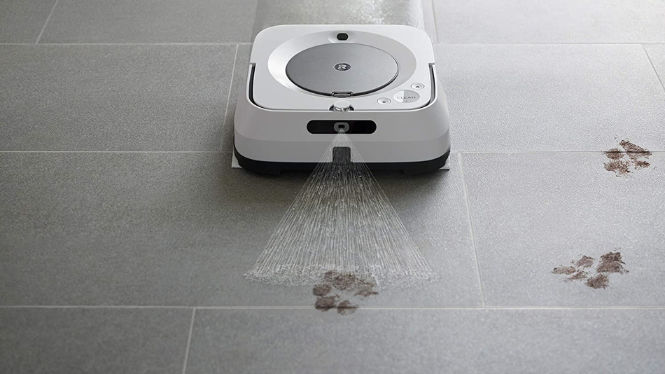 Mud, wine spills, and other general floor grime — things that a robot vacuum can't tackle, but a robot mop can.