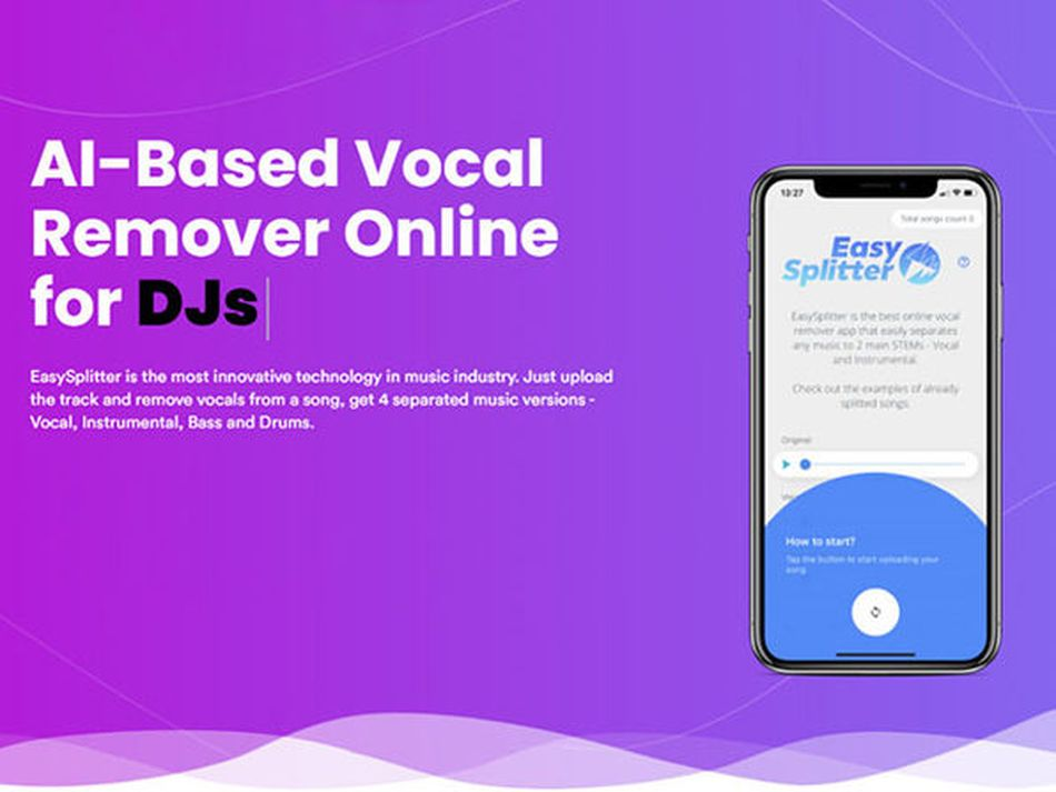 Extract the vocals and instrumentals from any track using this AI tool
