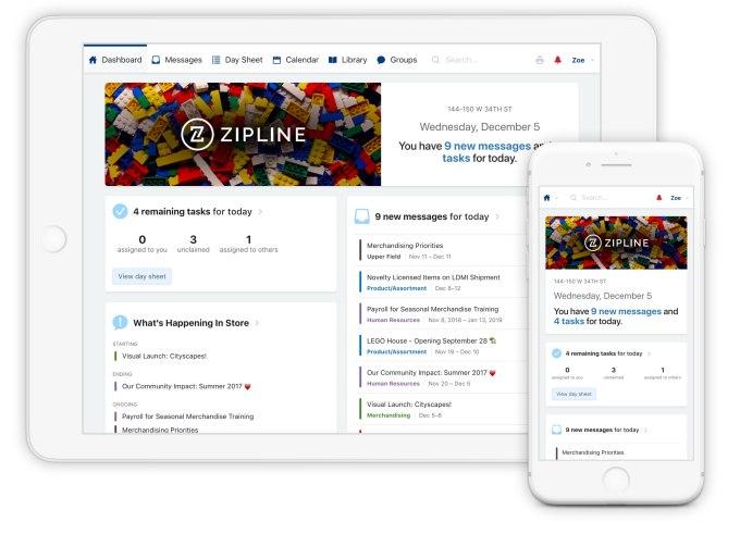 Retail Zipline screenshot