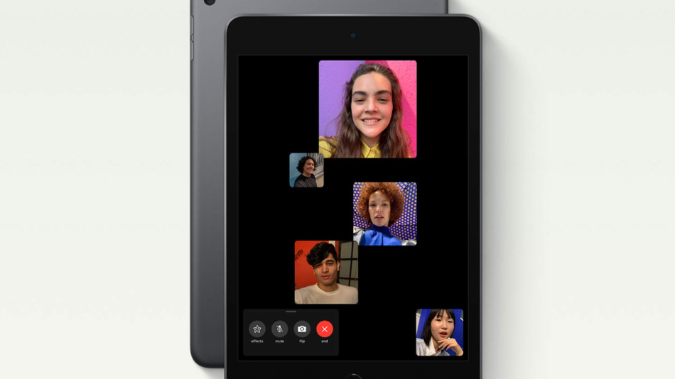 Reconnect with friends on the ultra-portable and powerful iPad Mini.