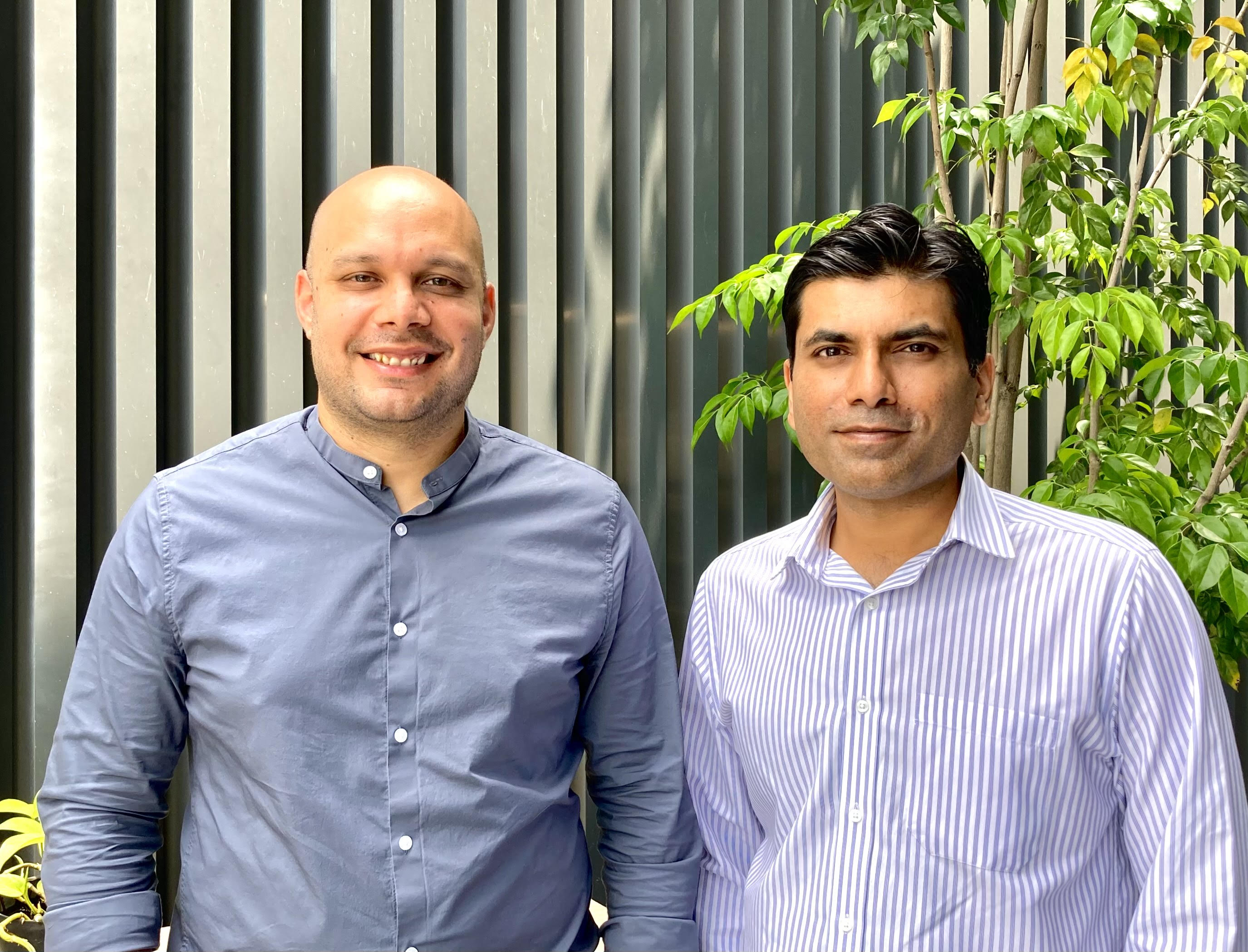 Fewcents co-founders Dushyant Khare and Abhishek Dadoo